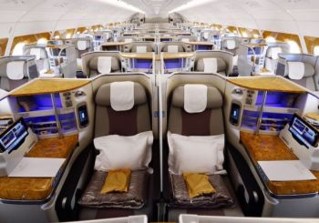 Enjoy a Comfortable Journey in Business Class